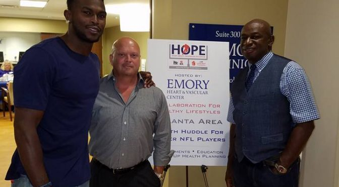 Julio Jones Supporting Former Players' Health at Event Hosted by Pro Player Health Alliance